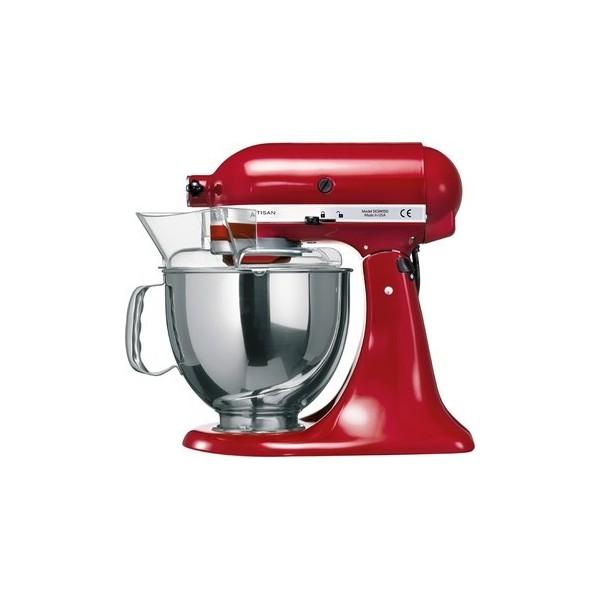 Achetez kitchenaid robot rouge sur socle artisan pas cher - Kitchenaid artisan pas cher ...