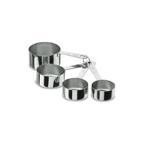 Set de 4 ustensiles inox doser for Set cuisine inox