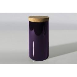 CHAI - Boite à thé Ø 8.5 cm PRUNE