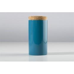 CHAI - Boite à thé Ø 8.5 cm AZUR