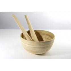 TCHON - Saladier bambou Ø 20cm NATUREL