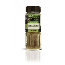 Coriandre moulue pot verre 25 gr