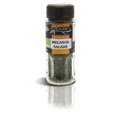Mélange Salade flocon BIO flacon verre 12 gr