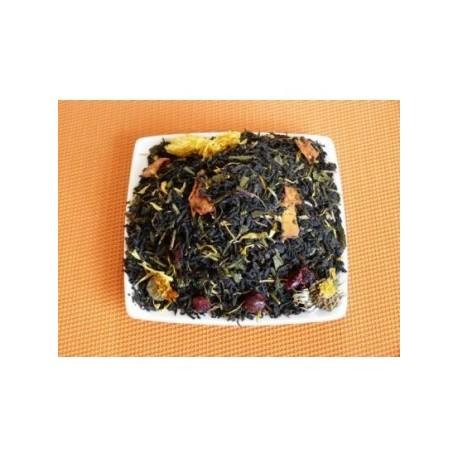 Thé noir thé vert bio jardin exotique