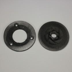 Meules pour moulin Diamant D525 Taille 14/15