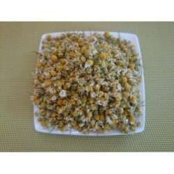 Tisane Camomille matricaire fleurs bio