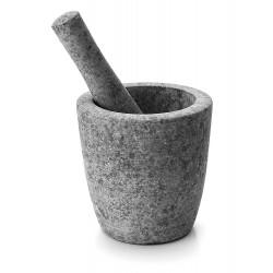 Mortier granit ø 12 cm haut 12 cm avec son pilon