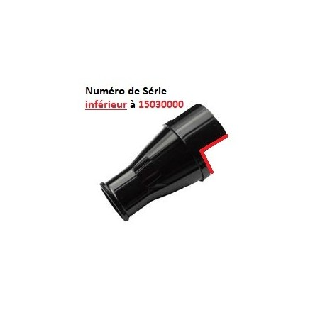 CONE BROYEUR JAZZ MAX TARRIERE NOIRE SERIE INF A 1503000