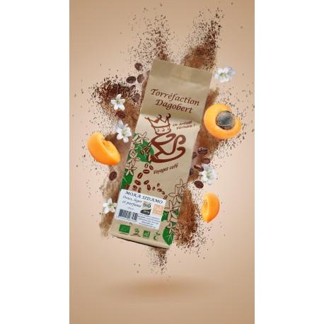 Café bio moulu MOKA SIDAMO 250 gr - DOUX LEGER ET PARFUME