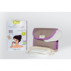 Kit Eco Belle Mini biface coton bio