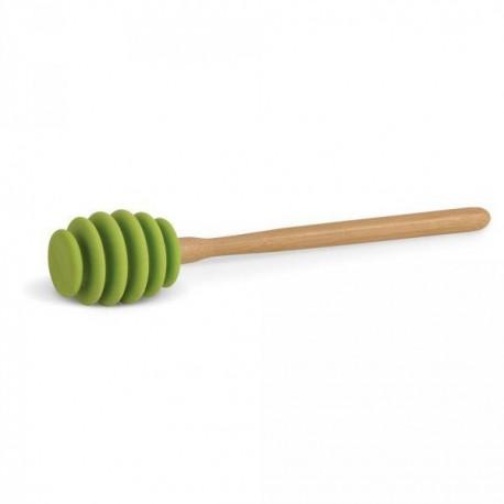 Cuillère miel silicone bambou