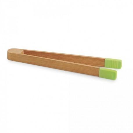 Pince à servir en bambou et silicone