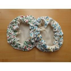 Recouvre bol en tissus coton bio ou coton enduit (S)
