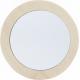 Miroir simple face en bois de Schima Superba