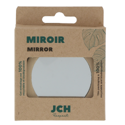 Miroir simple face en bois de Schima Superba