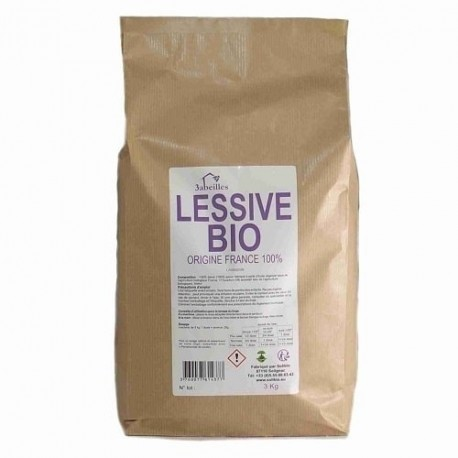 Lessive Poudre Bio Lavandin 3 kg