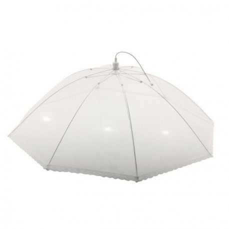 cloche parapluie collerette dentelle 75 cm