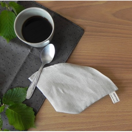 Filtre à café en lin bio