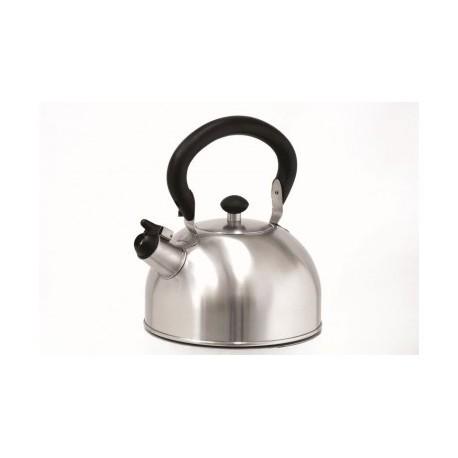Bouilloire sifflet Inox 1.5 l
