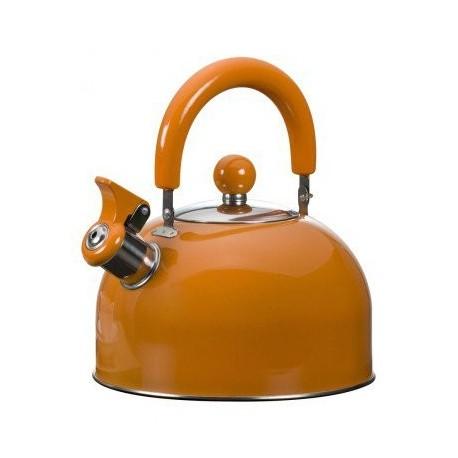Bouilloire sifflet Orange 1.5 l
