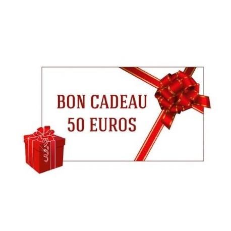 BON ACHAT CADEAU 50 €