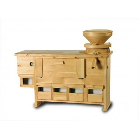 Combi-moulin tamiseuse intégrée