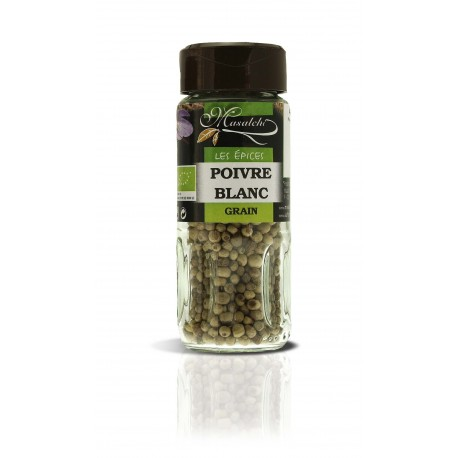 Poivre Blanc grain 40 gr