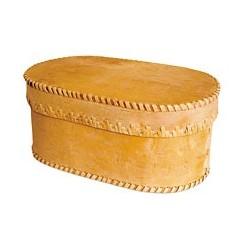 Boîte à pain ovale 29 x 11 cm