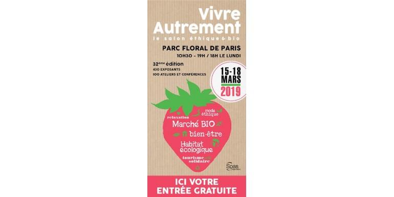 Salon Vivre Autrement Parc Floral Paris 2019